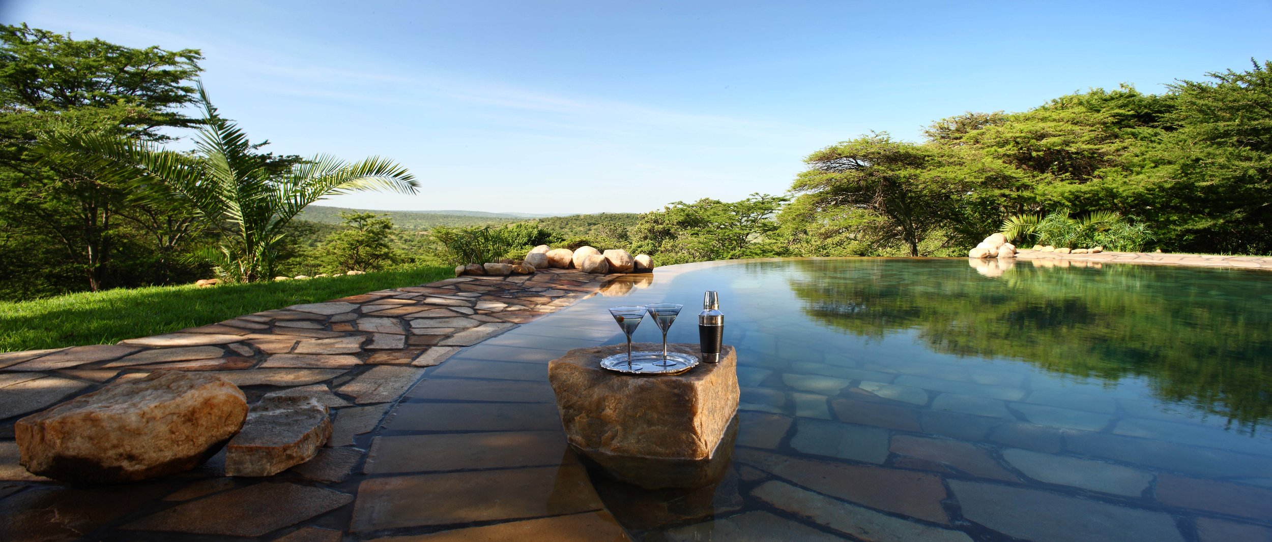 Cottars - New swimming pool with cocktail glasses.jpg