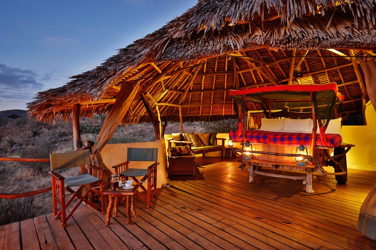 elewana camps & lodges - loisaba star beds