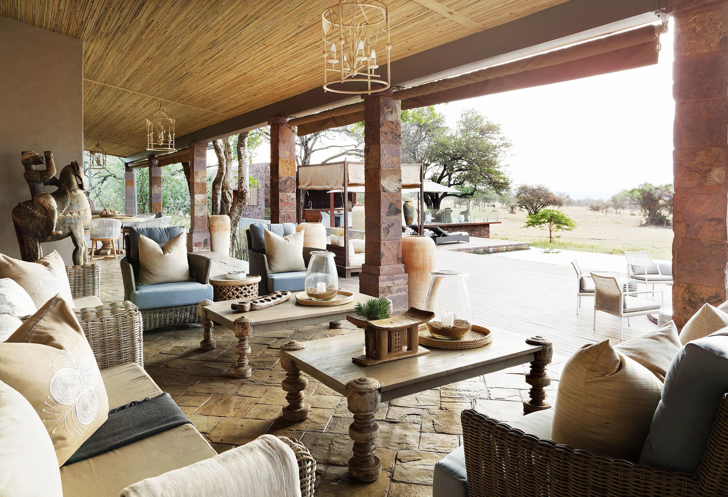 singita portfolio - serengeti house