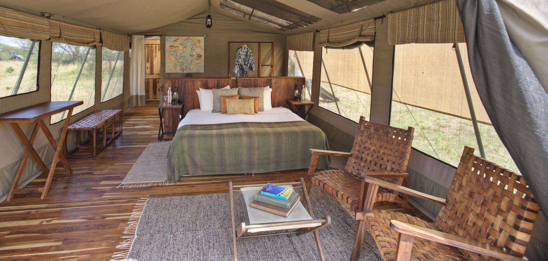 top serengeti mobile tent camps - asilia - olakira camp