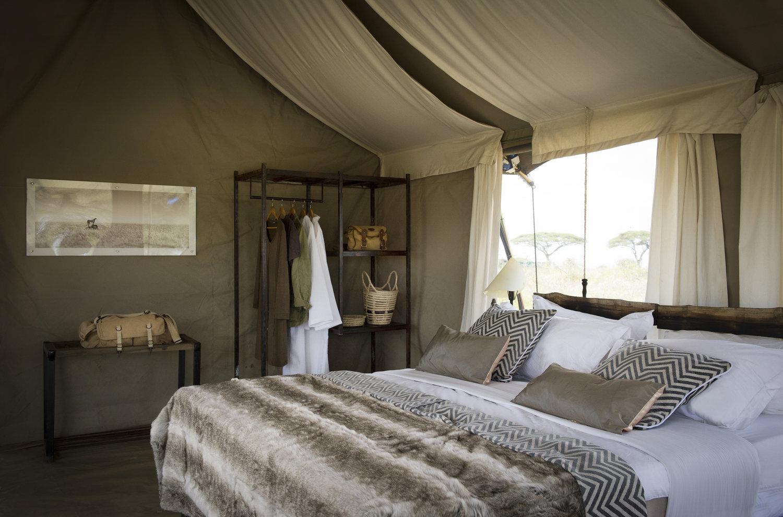 asilia portfolio - namiri plains camp
