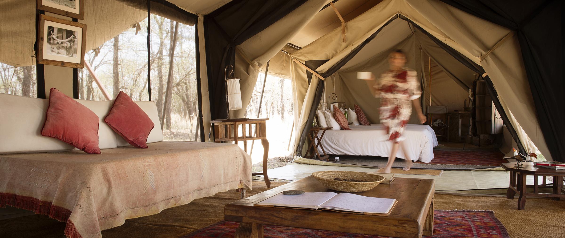 top serengeti mobile tent camps - serian's serengeti north