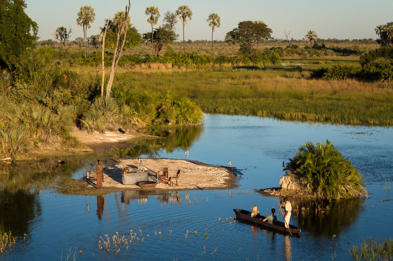 top botswana destinations - moremi game reserve