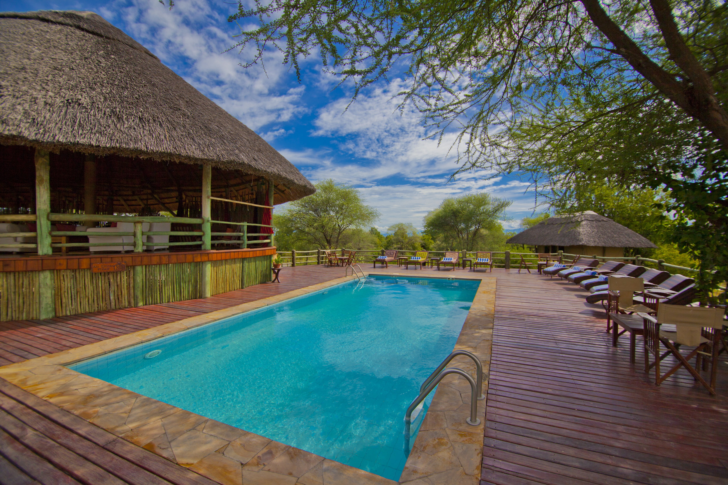 Swimming Pool And Deck - Tarangire River Camp