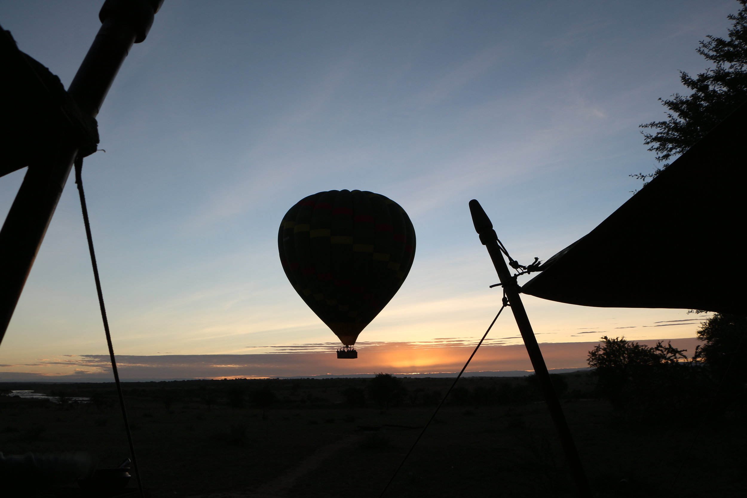 Hot Air Balloon - Olakira Migration Camp