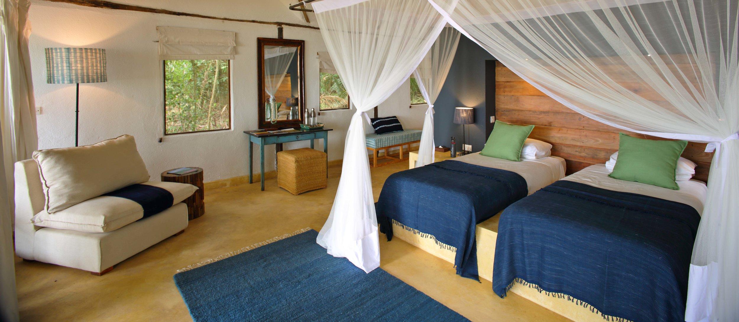 Inside Of Guest Room - Rubondo Island Camp