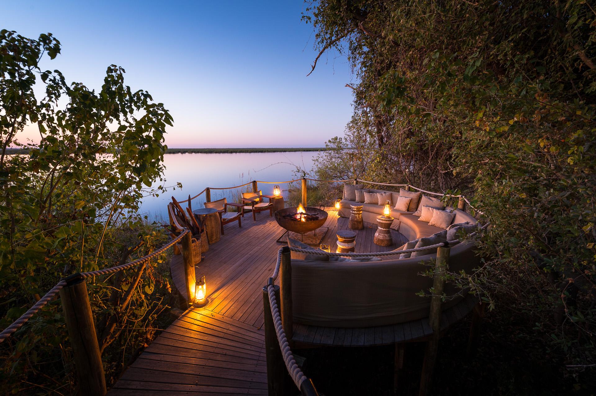 top african safaris - chobe - luxury
