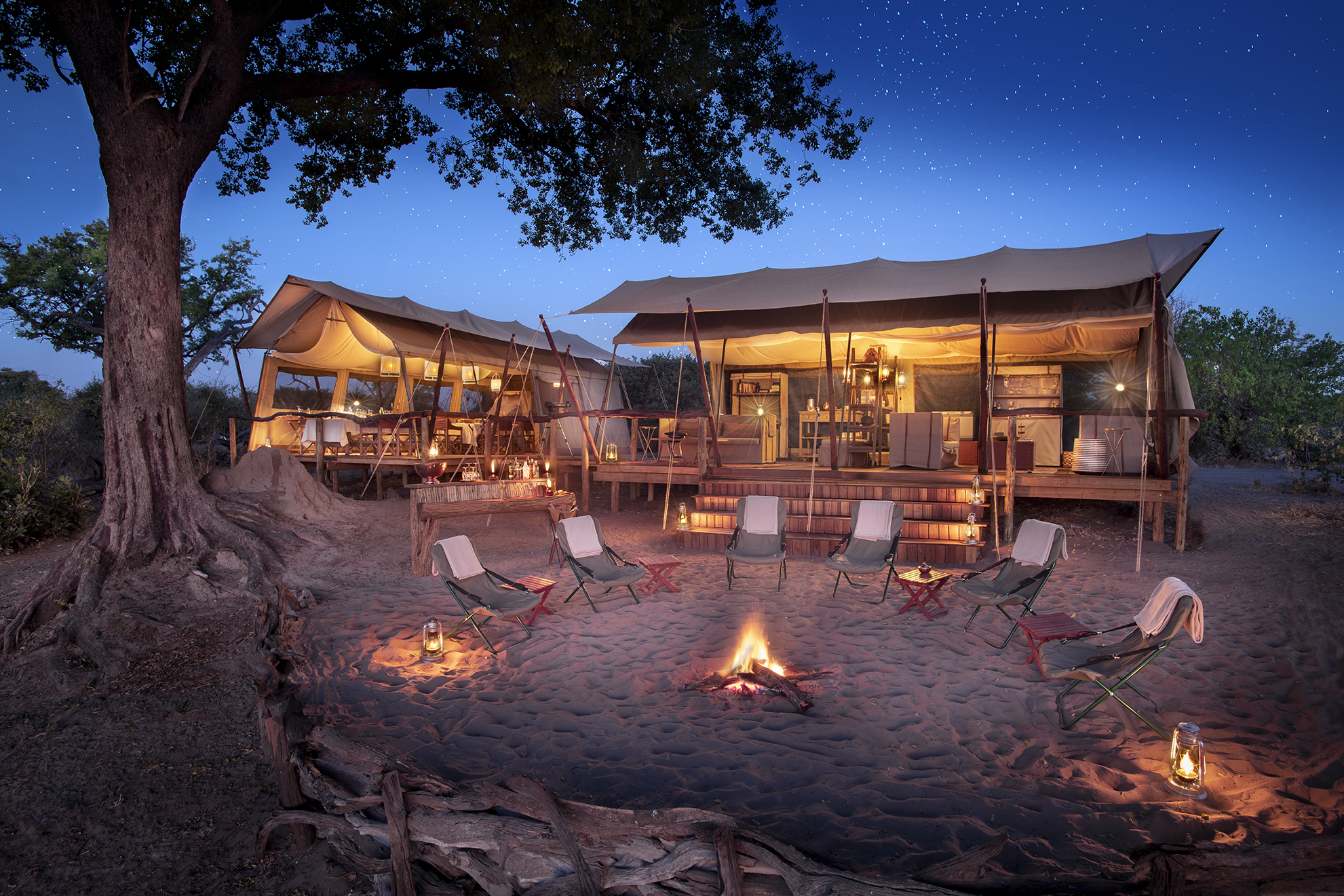 african bush camps - linyanti expedition camp