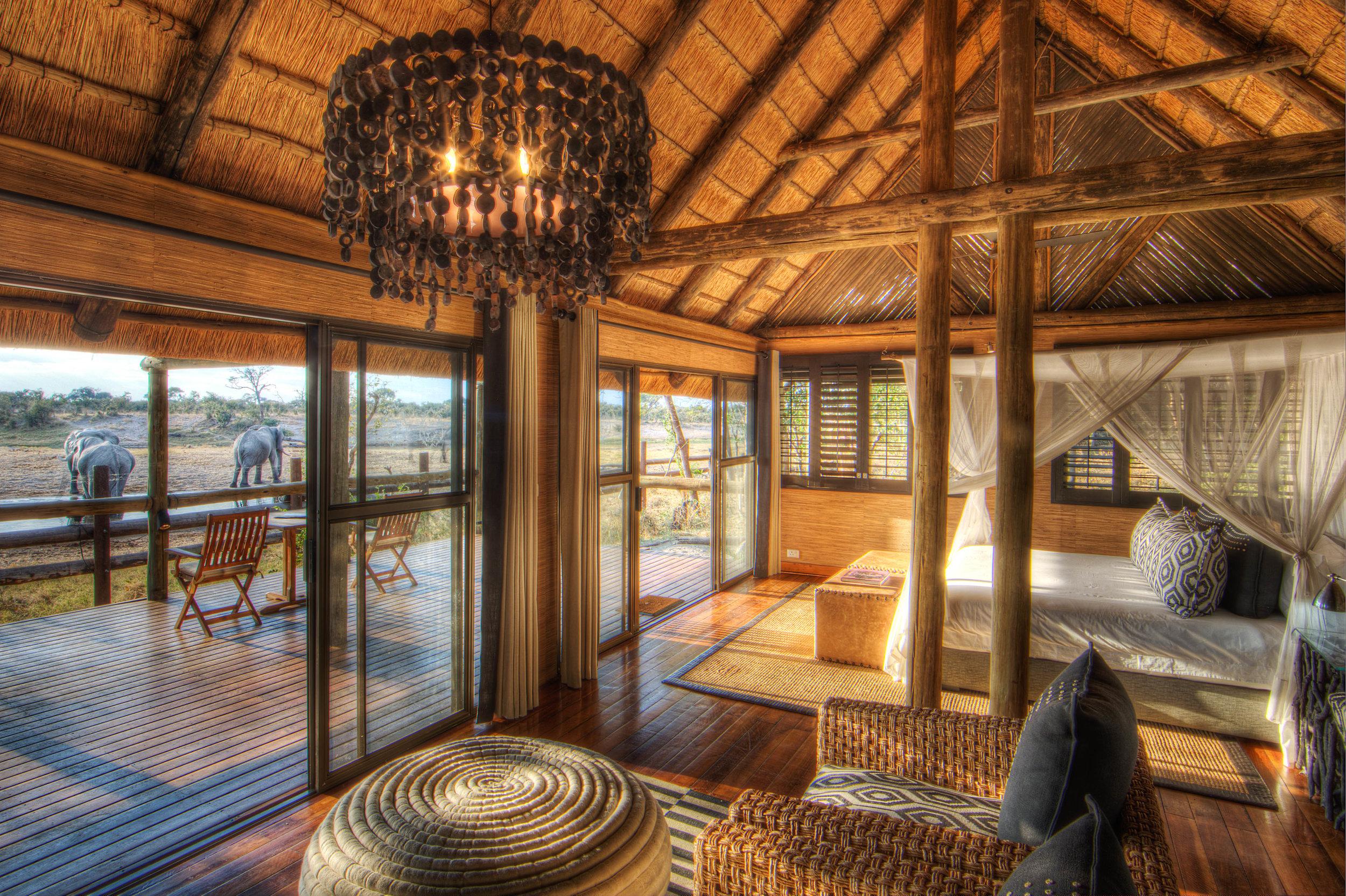 top chobe lodge - savute safari lodge