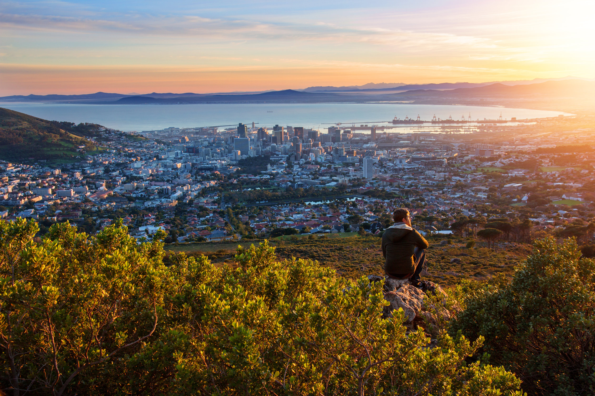 top south african destinations - cape town
