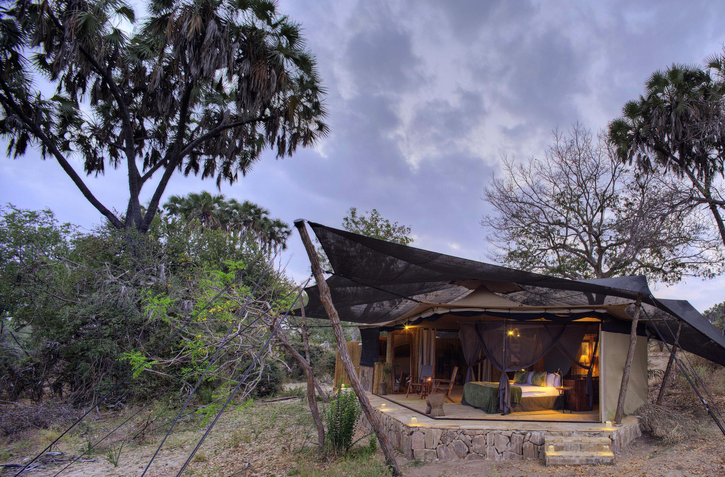 tanzania - selous game reserve - rojo ya selous