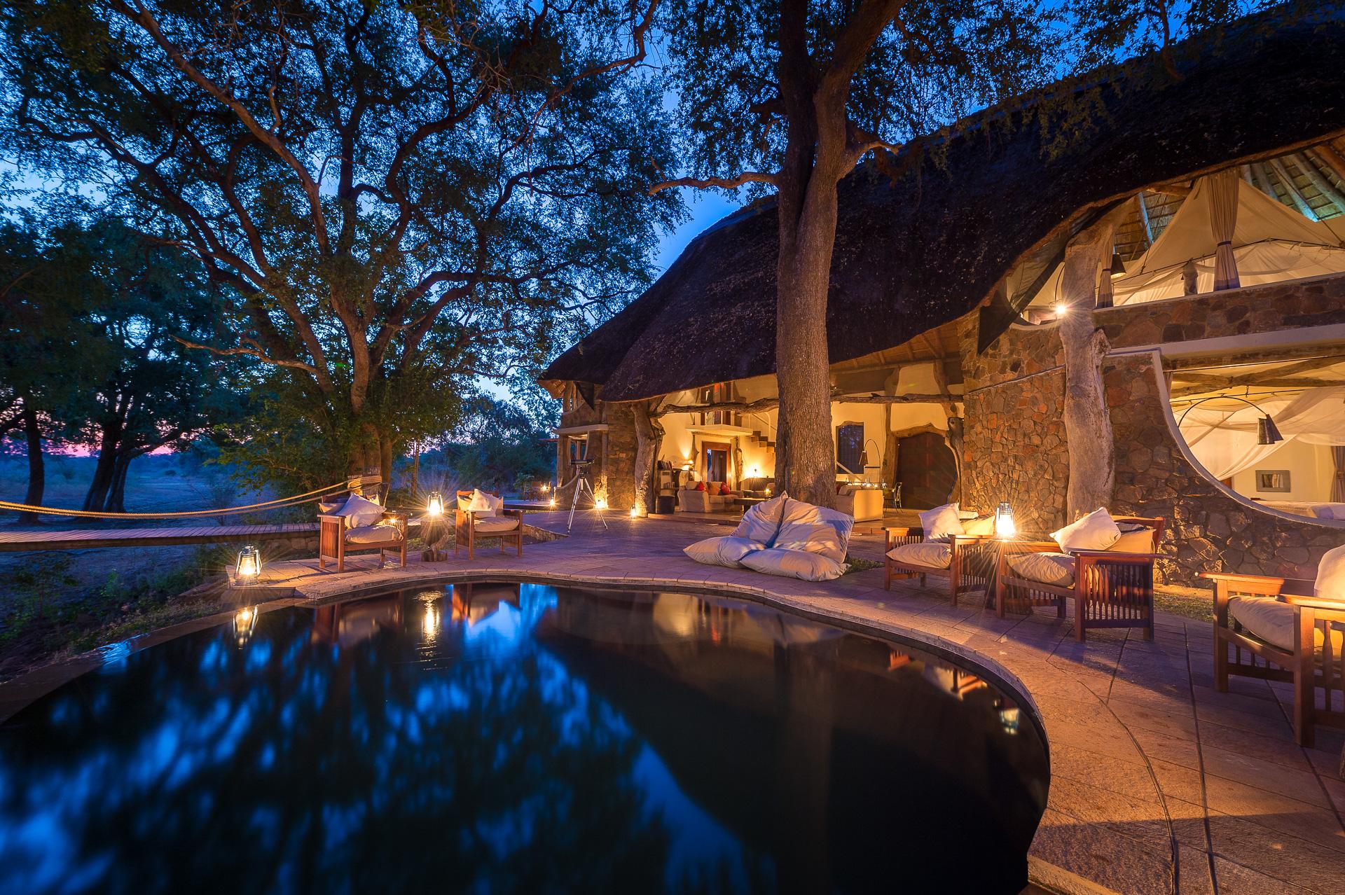 robin pope safaris - luangwa safari house