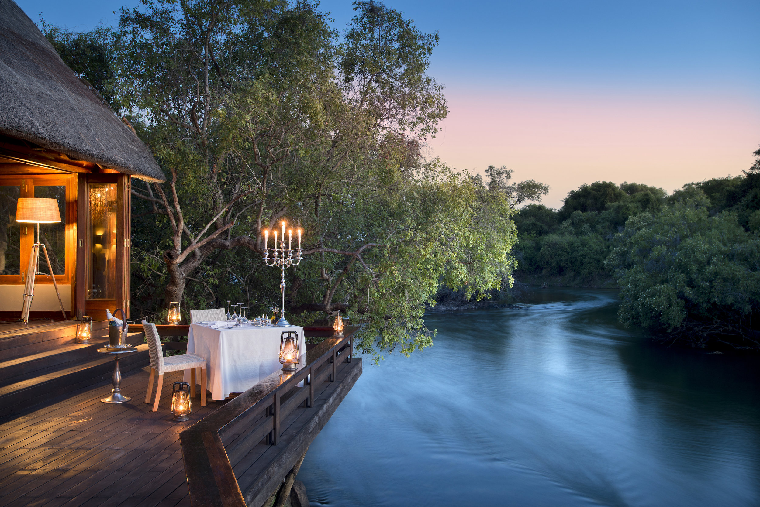 top zambian lodges & camps - zambezi river - royal chundu lodge
