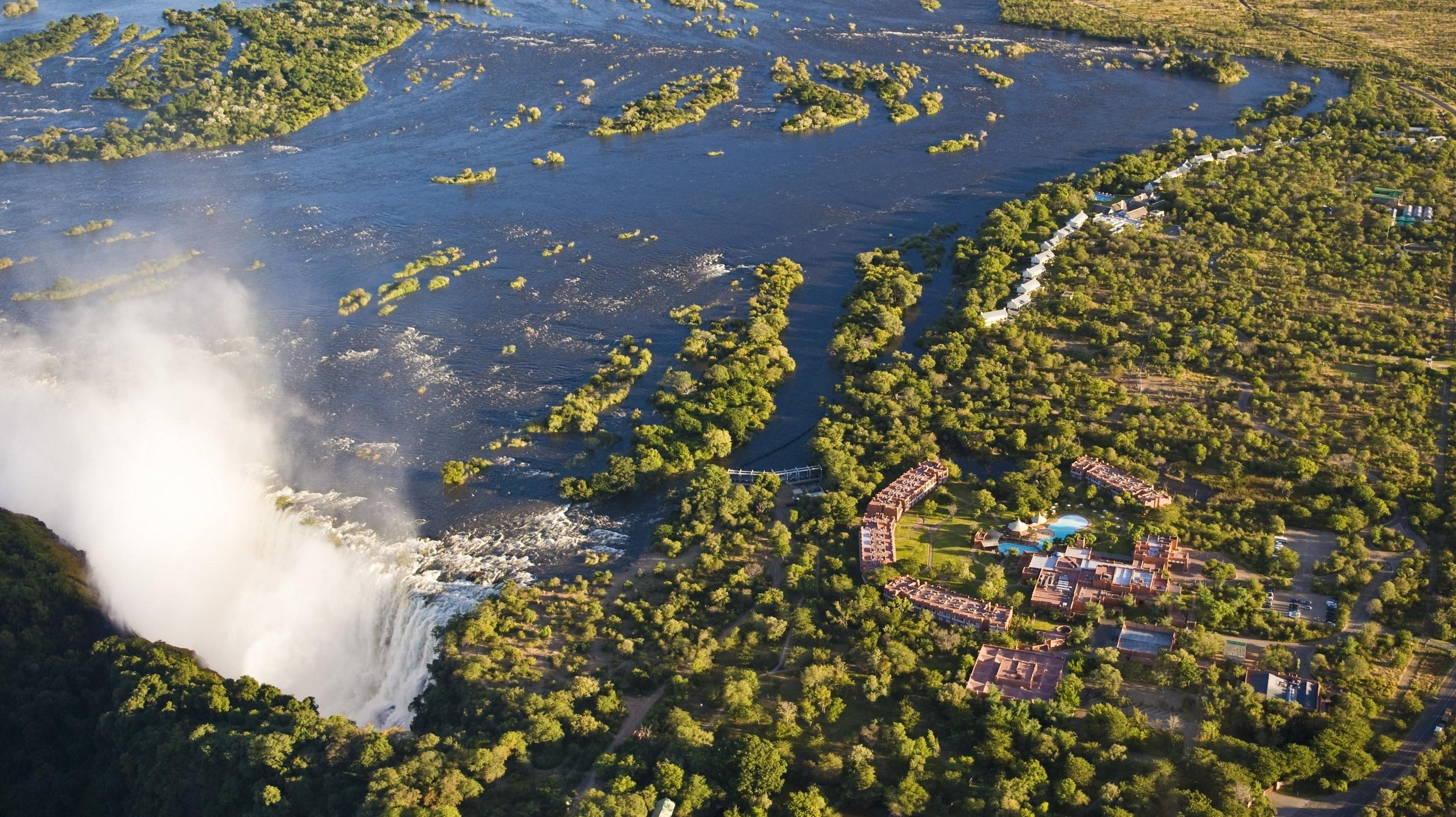 Aerial view of The Royal Livingstone and Victoria Falls.jpg
