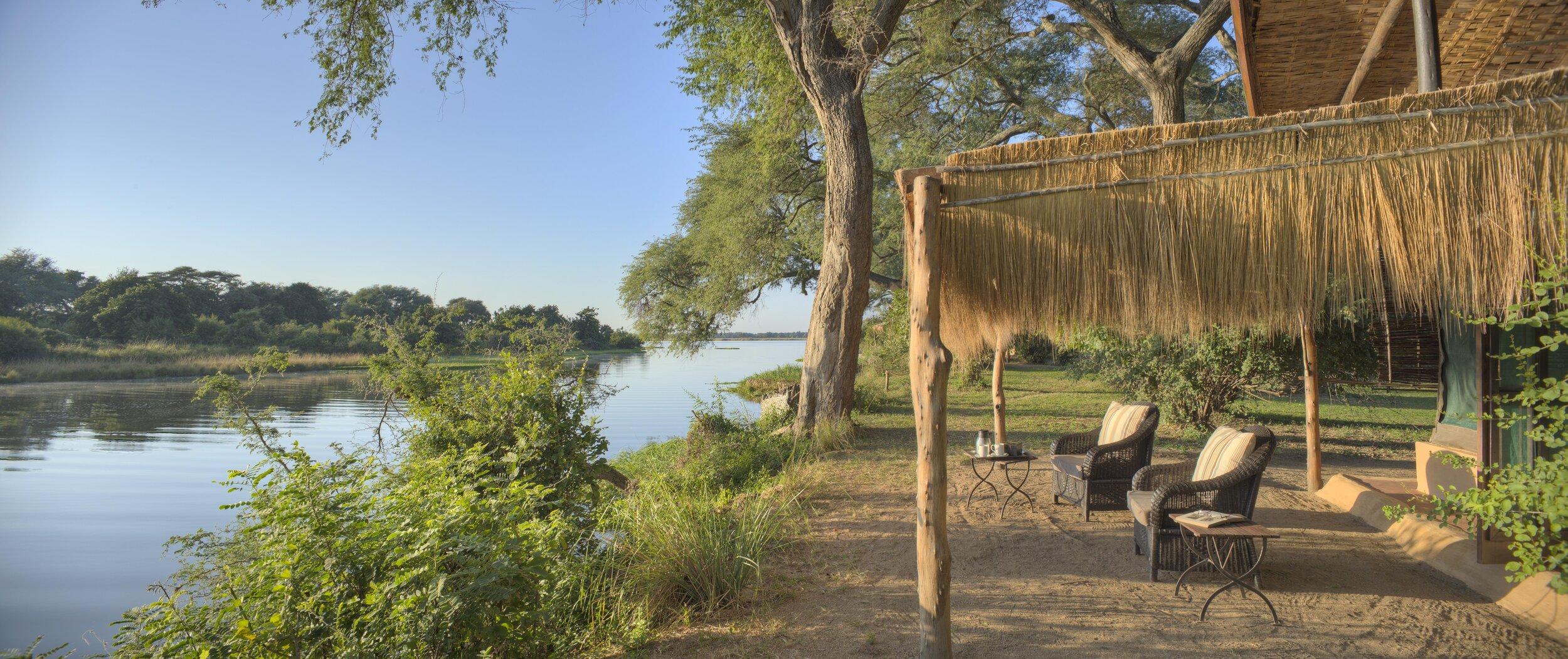 time + tide - chongwe river camp