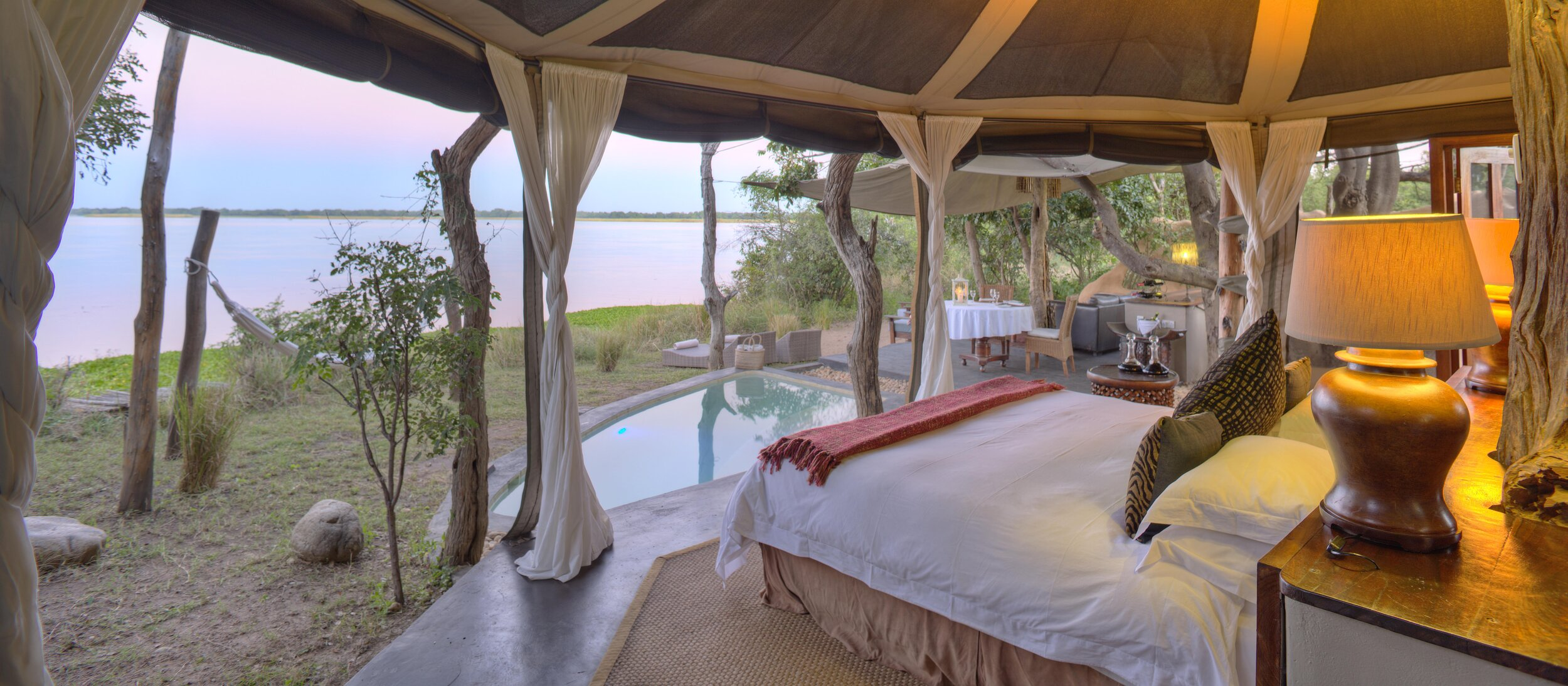 time + tide - chongwe river suites