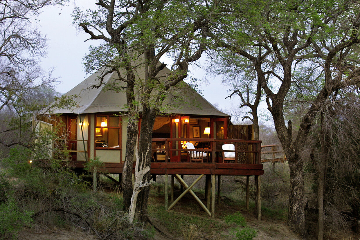 top kruger lodges & camps - hamiltons tented