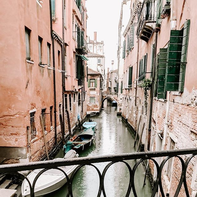 Today we enjoyed the city via a four-hour walking tour with a local guide. The weather was wet for outdoor activity, but we had fun anyway! Here's just one of my favorite pics of the day. Venice is such a beautiful place! #travel #travelphotography #travelblog #travelstore #traveltheworld #luxurytravel #traveling #traveler #explore #adventure #venice #italy #architecture #water