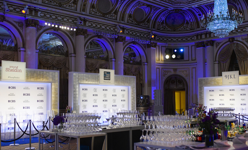 CBS: UPFRONT POST-PARTY 2016-2018 - AT THE PLAZA HOTEL, NYC
