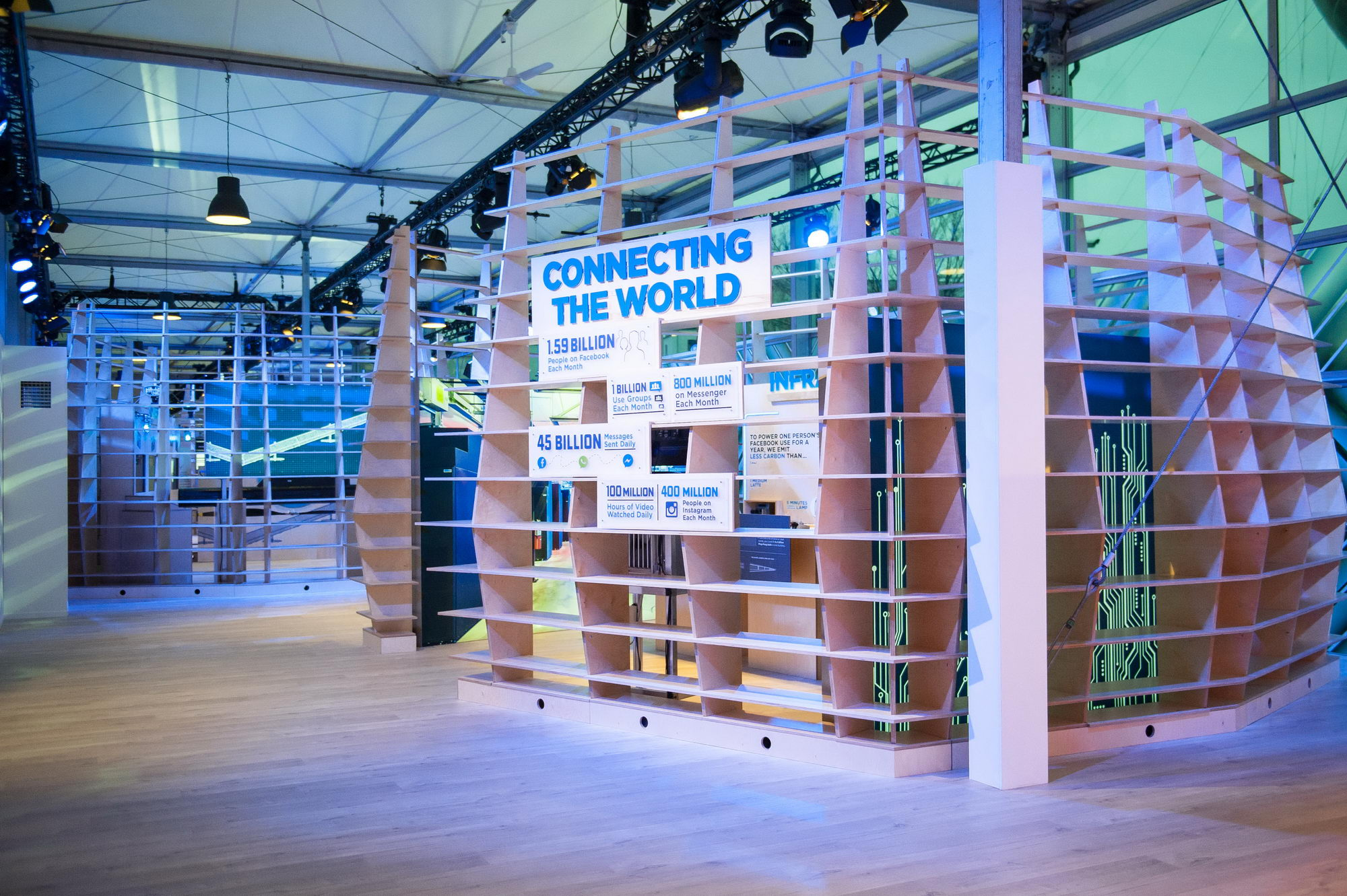 FACEBOOK: INNOVATION LAB - EUROPEAN TOURING EXHIBIT IN BERLIN AND LONDON
