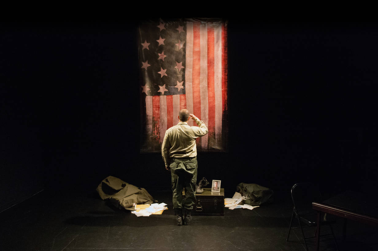 The American Soldier Off Broadway