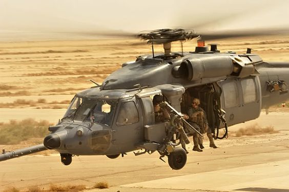 Medieval Helicopter, Desert Storm