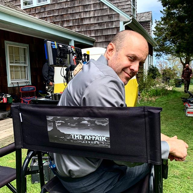 A few still from @sho_theaffair. • A wonderful crew, cast and a wonderful set. #Grateful!