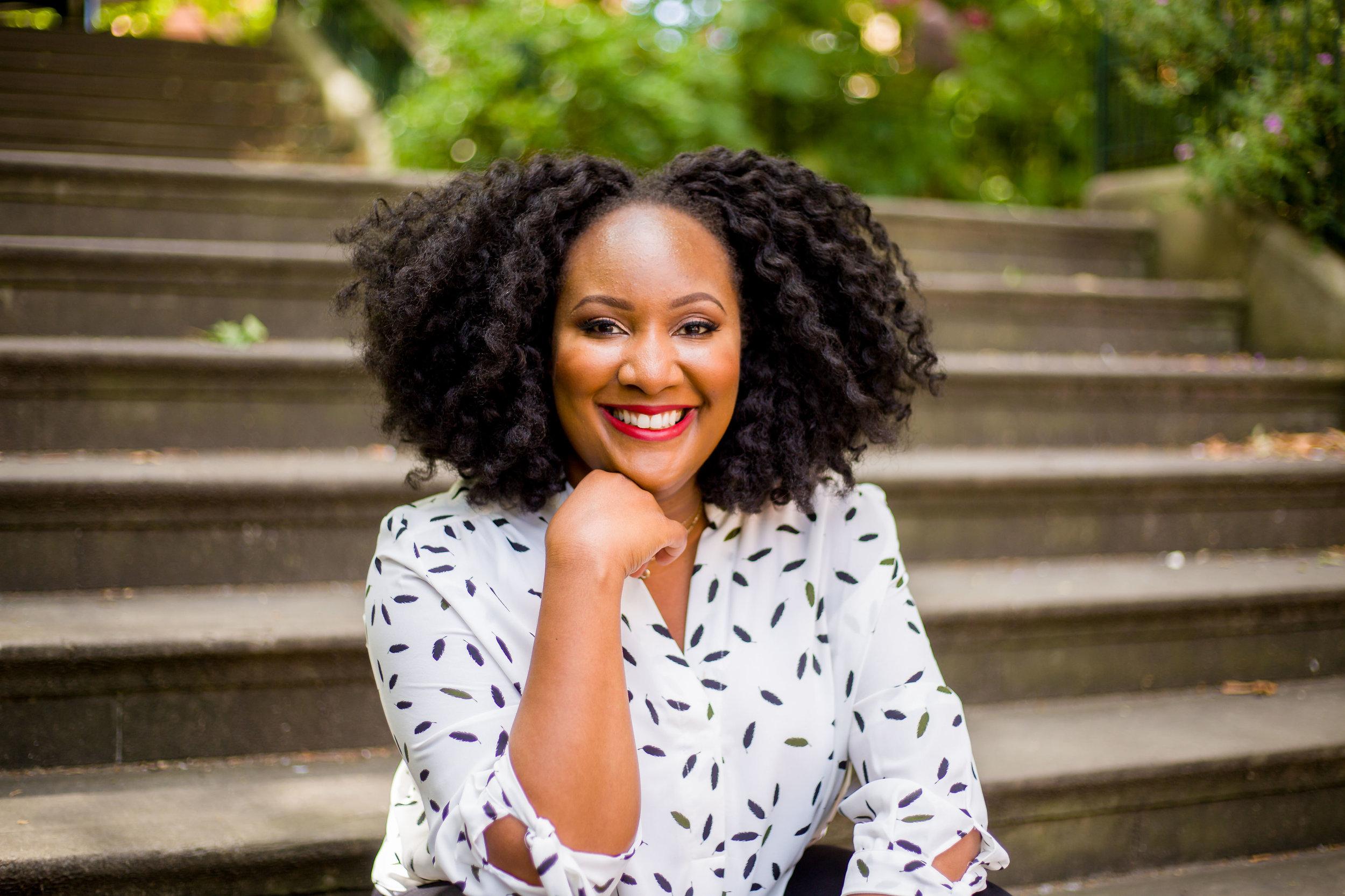 meet irene moore - money, marketing + mindset coach -