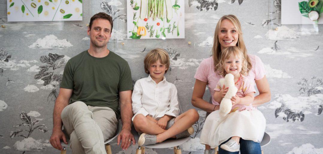 Kacy Erdelyi and family of Joyist