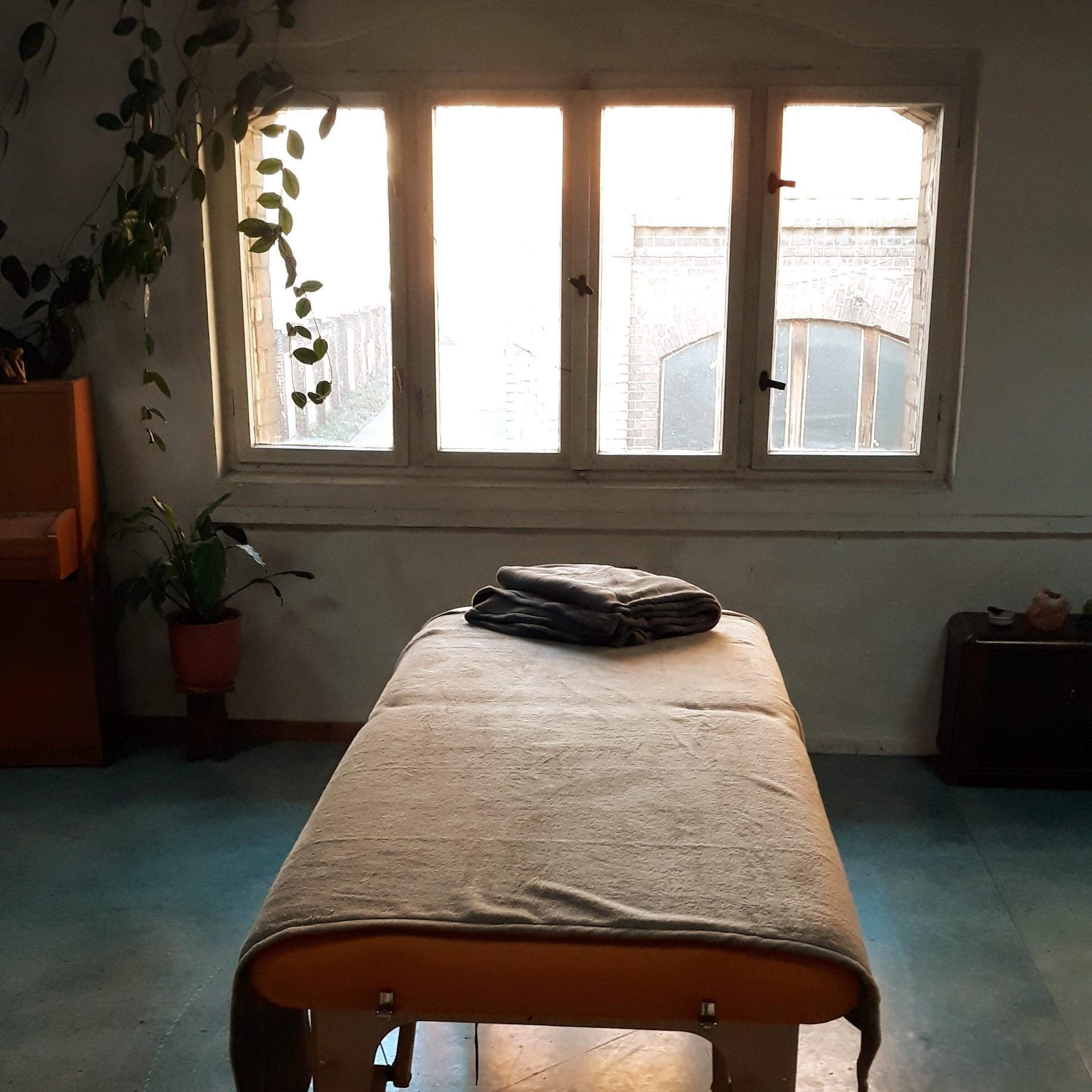 The Reiki treatment area at  Salon Verde -  Berlin