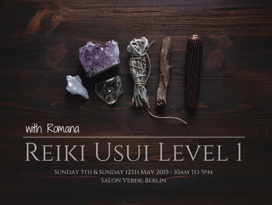 Reiki Usui Level 1 - Salon Verde, Berlin