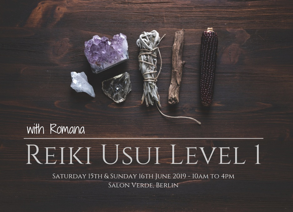 Reiki Usui Level 1 - Salon Verde, Berlin