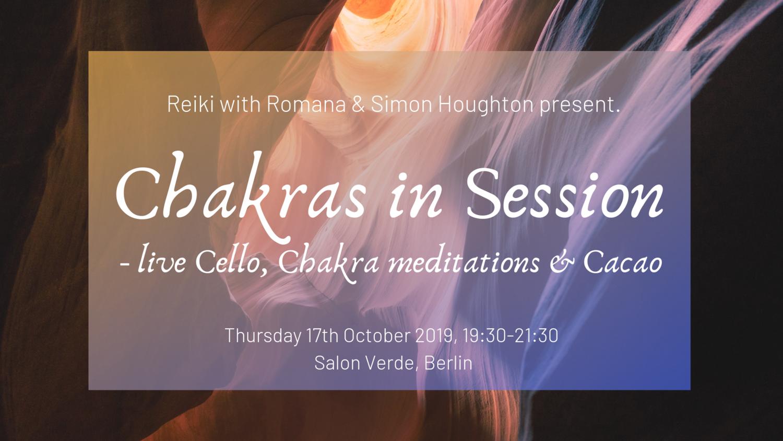 Chakras in Session at Salon Verde, Berlin
