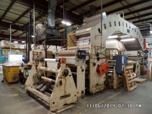 "45"" Coater/Laminator Line with 33' Dryer"