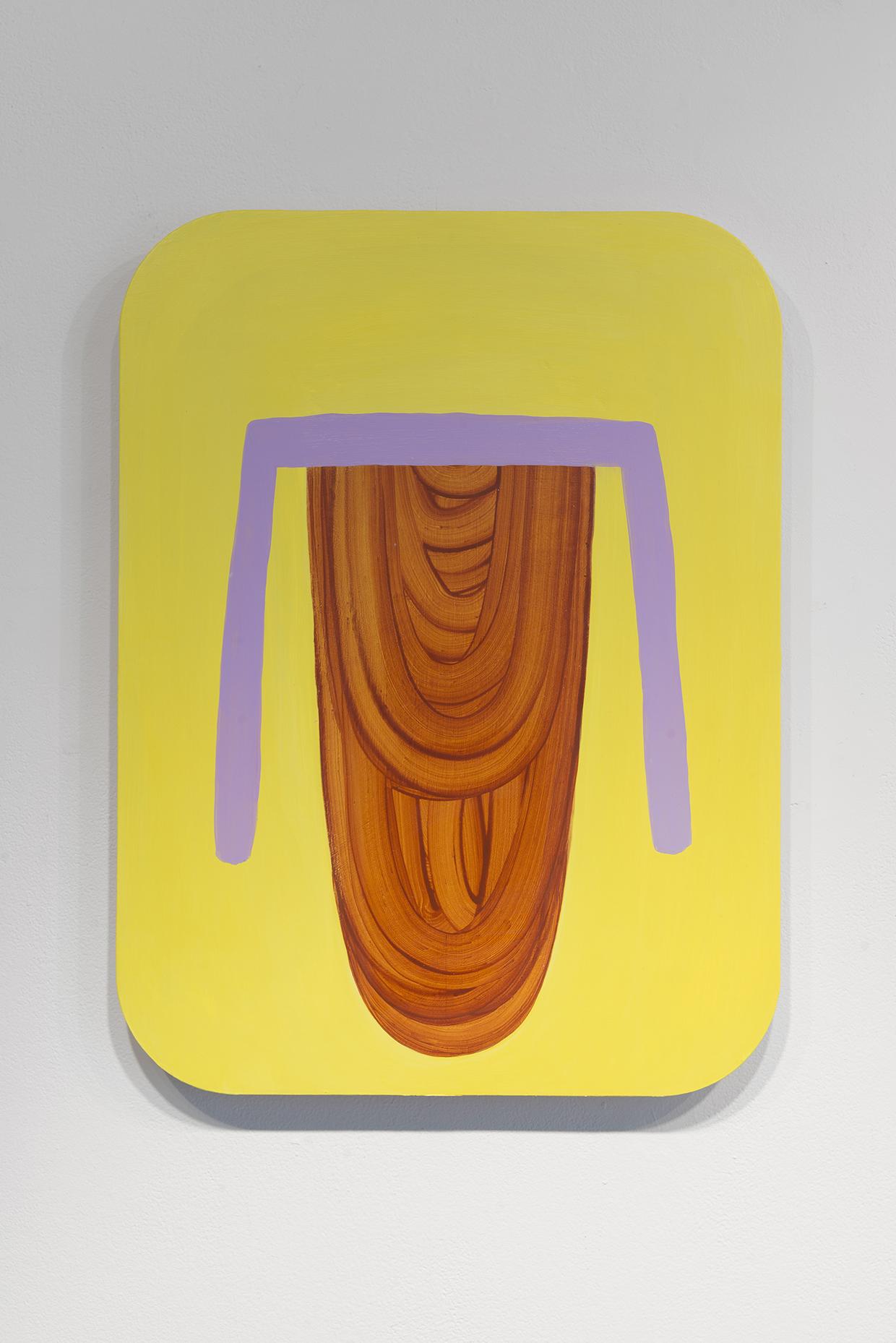 "Untitled,  18"" x 24"", acrylic on panel, 2017"