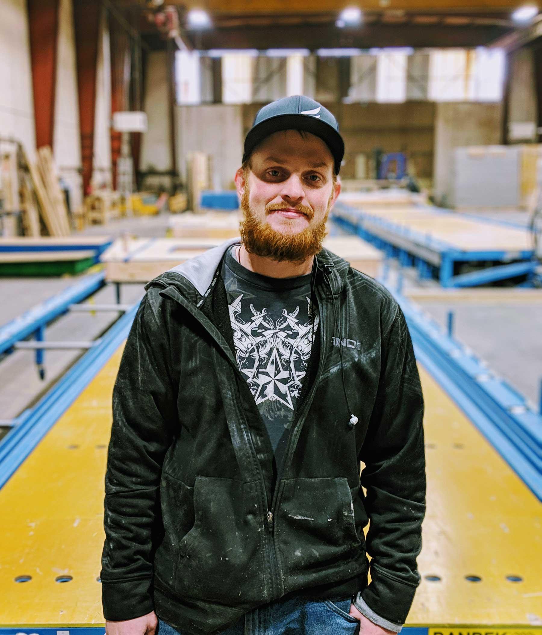 Colten Kiesow - Shop Technician & Assembly Crew Member