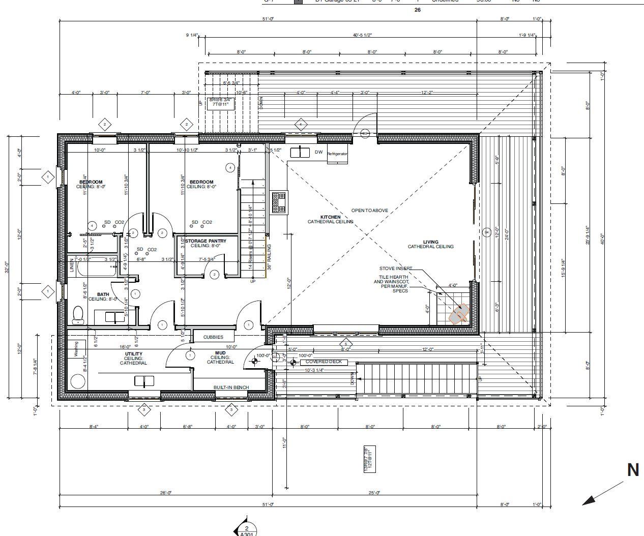 Small Haus Large 1800 1st Floor