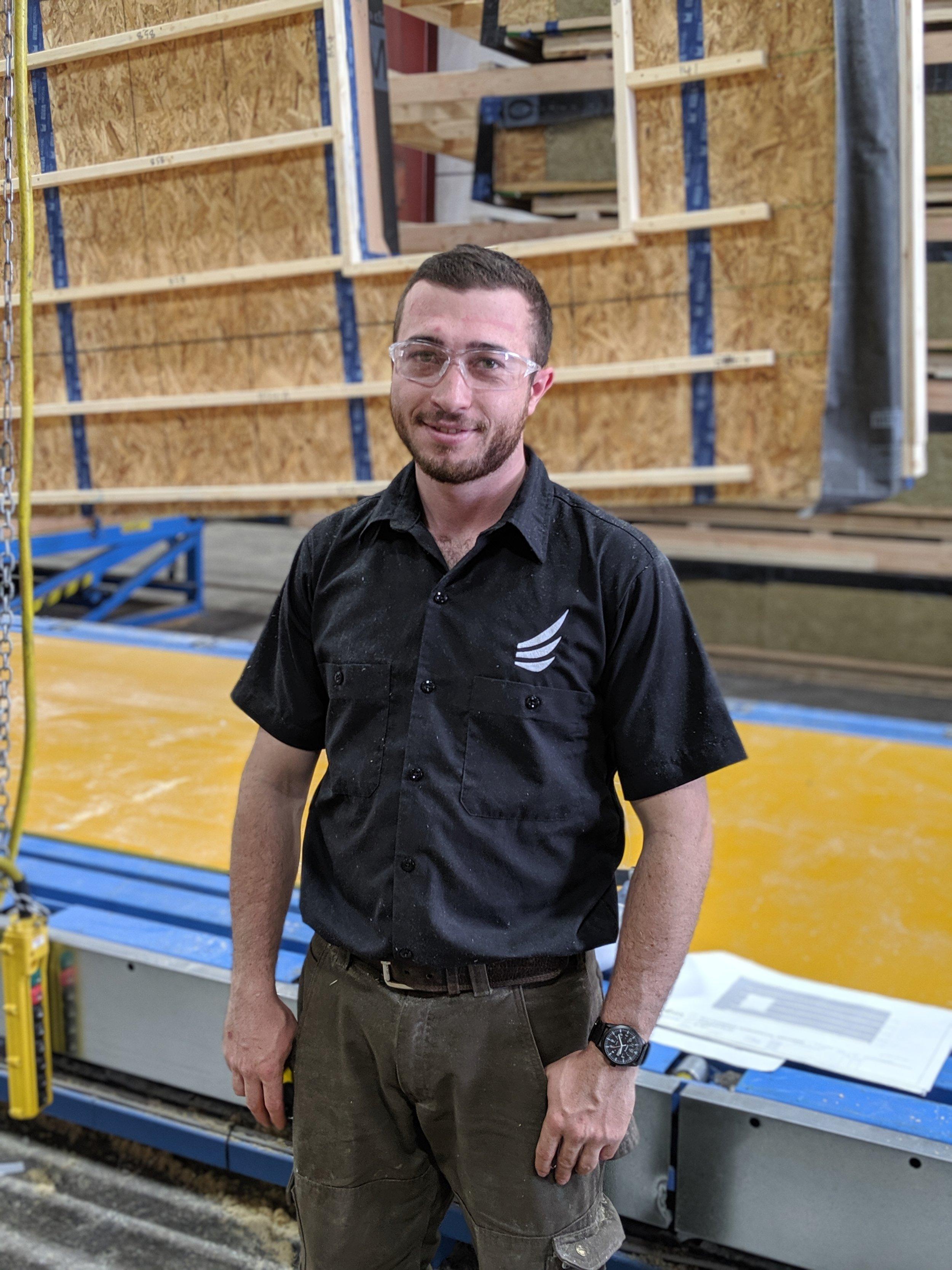 Sam Lohman - Shop Technician & Assembly Crew Member
