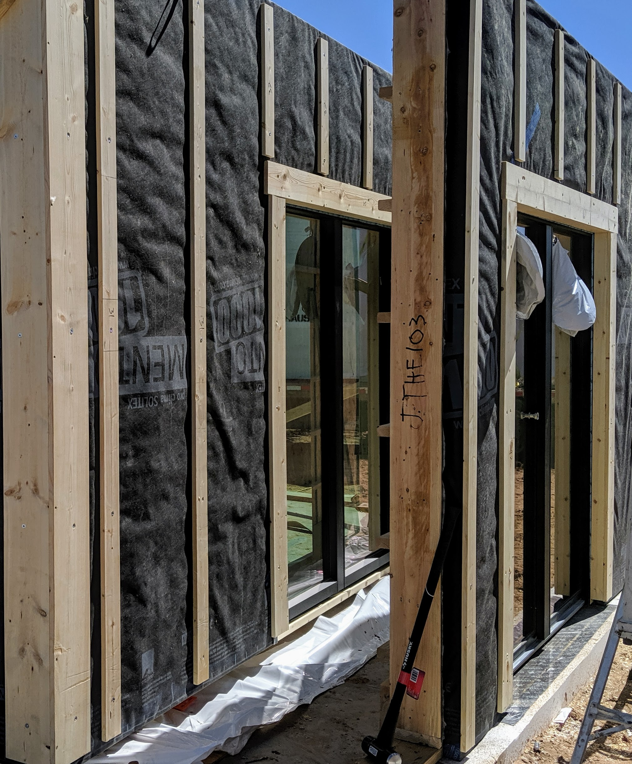 Upgrade to Wood Aluminum Clad Windows & Doors - Pre-Installed, Triple-pane, adjusted to climate for comfort & performance, made in the U.S.A.