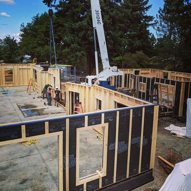 Going street Commons is underway in Portland, OR ☀️ 11 unit project is utilizing our off-site built Alpha System!  #dfma #portlandoregon #goingstreetcommons #netzero #rockymountainpassivehouse #offsite