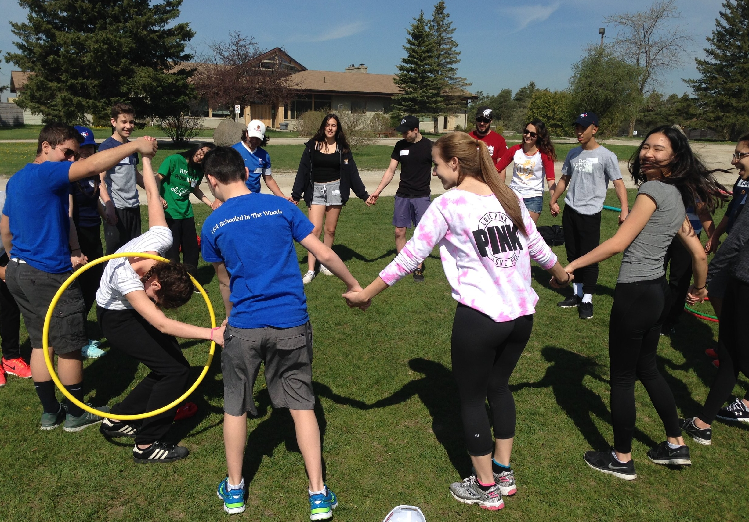 LEADERSHIP - All students have leadership abilities. To help develop their leadership abilities they must participate in opportunities to teach and support others and be a positive role model. Students need to ensure their words and actions are congruent at all times.Possible LEADERSHIP opportunities include:- Duke of Edinburgh - Gold Level Requirement- Muskoka Woods - Leader/Mentor Training at YMCA Cedar Glen- BOH4M - Business Leadership Course- PLF4M - Fitness Leadership Course- ADC4M - Drama in the Community Leadership Course- Executive of Councils & Clubs- Arts & Athletics Camp Counsellor