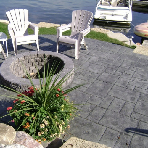 Stamped Concrete -