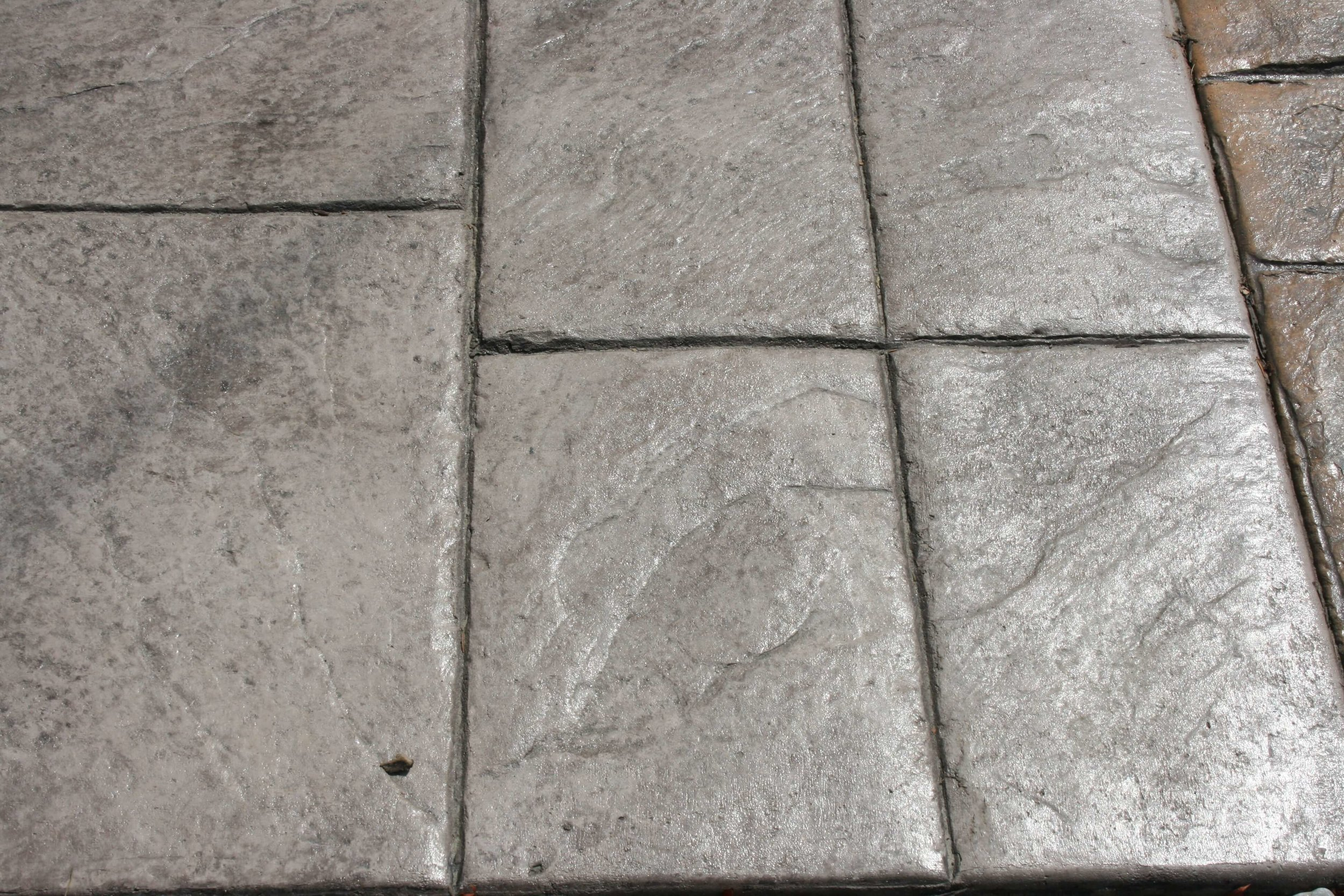 Large Ashlar - Slate with Nutmeg Release