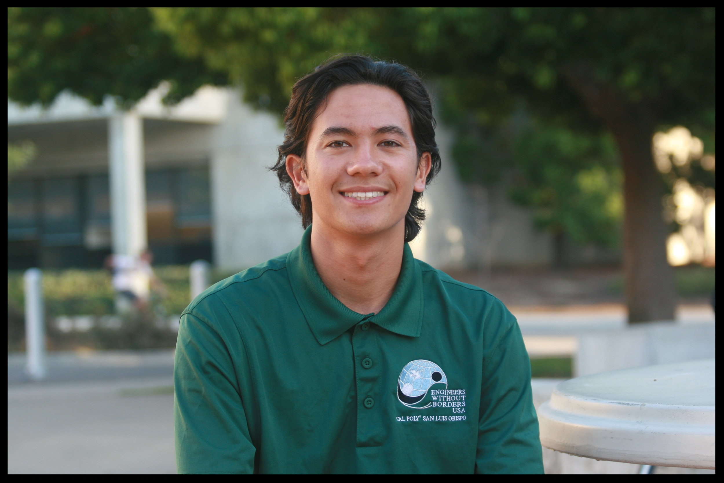 Tim Dinh - IMPACT Coordinator    Grad 2021 - Environmental Engineering   Tim is originally from Santa Clara, CA. He joined EWB because he wanted a way to have an impact on the world and help people in need during his time in college. Two of his favorite EWB memories are volunteering for the Meade Canine Rescue Center as a part of the annual IMPACT weekend last year and attending the officer camping trip. Outside of EWB, he enjoys surfing, going to concerts, and brewing his own yerba mate in his free time.