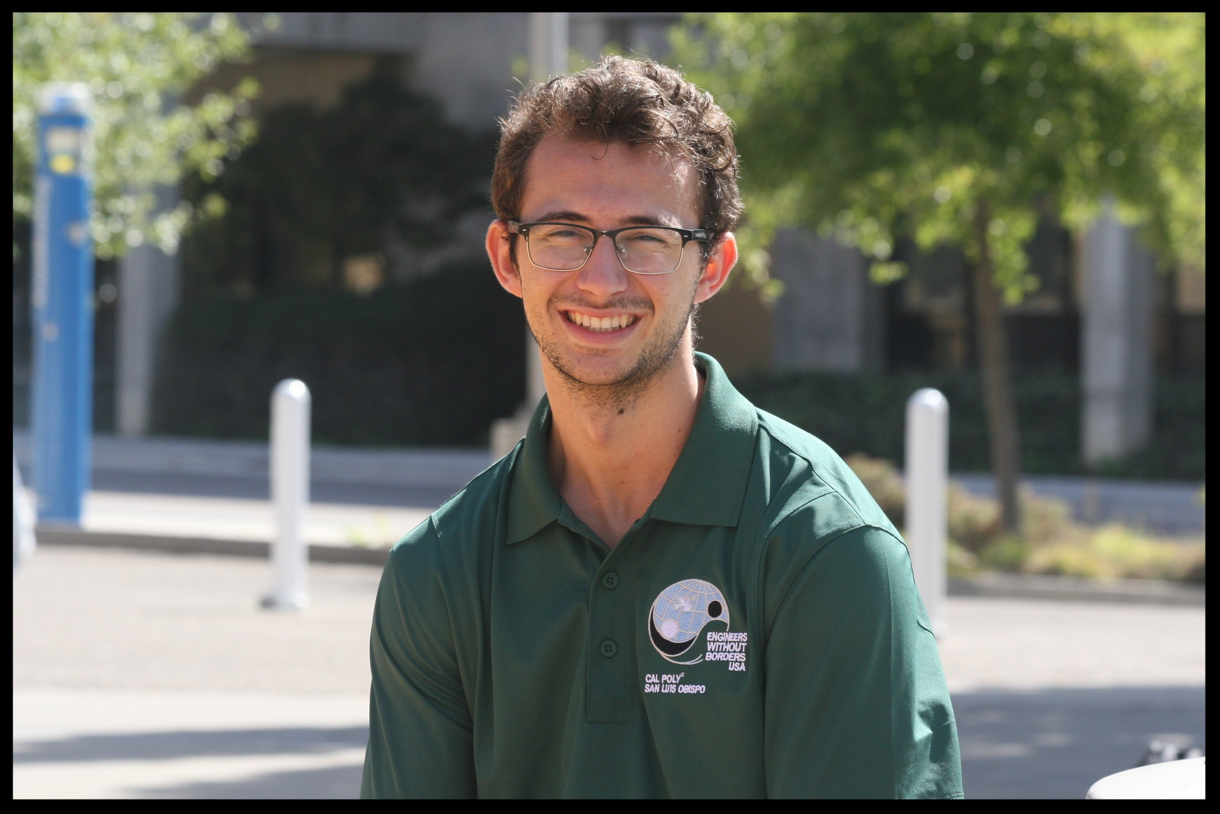Dylan Merlo - Nicaragua Team Project Manager    Grad 2019 - Civil Engineering   Dylan is from Folsom, California. He joined EWB as a way of uniting his passion for development work with his knowledge of Civil Engineering learned at Cal Poly. Dylan's favorite EWB memory is visiting La Rinconada and meeting the community members for the first time. Outside of EWB, Dylan enjoys playing soccer, hiking, and camping.