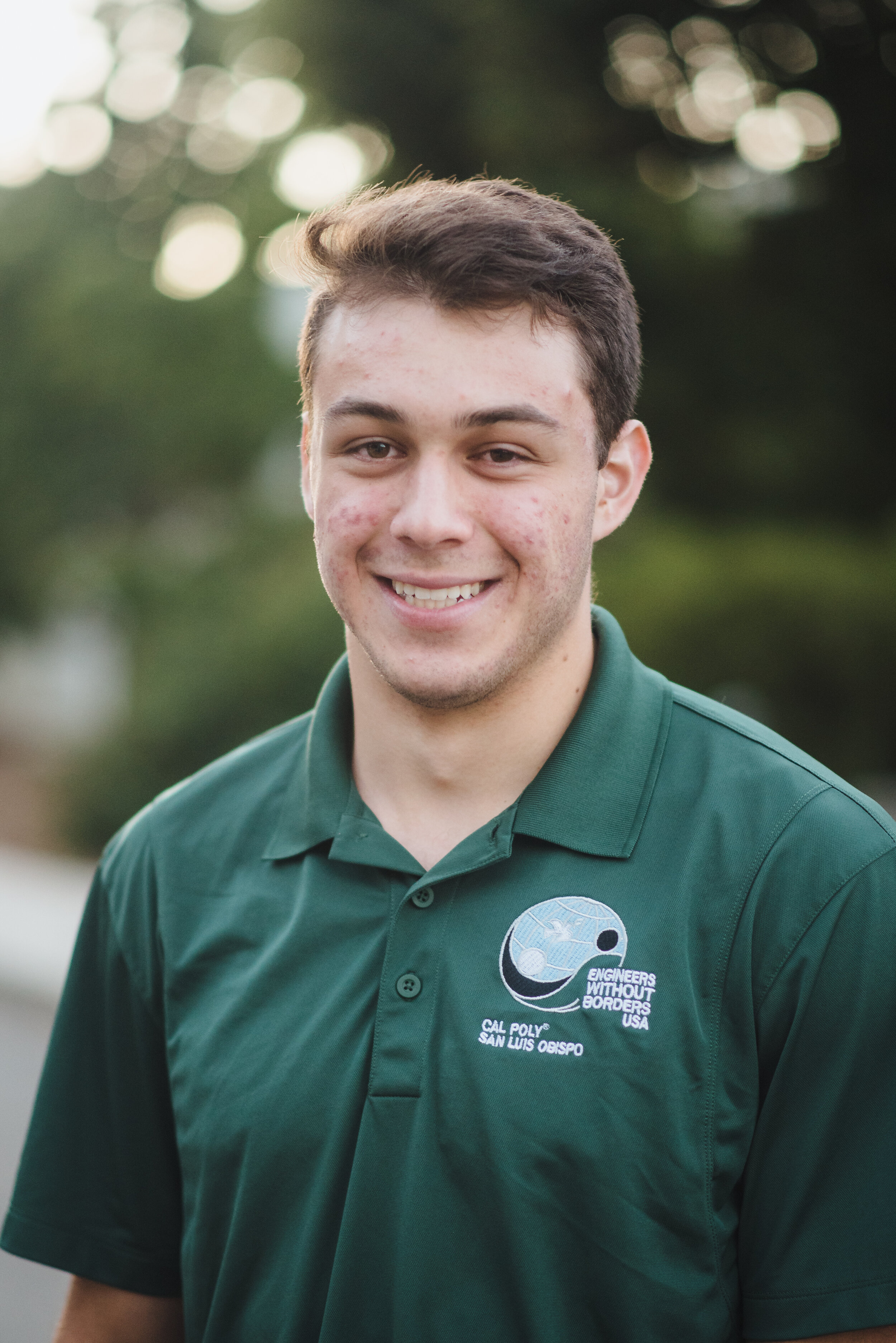 Chris Grabow - Fundraising Lead    Grad 2021 - Civil Engineering   Chris is a third year Civil Engineering Major from Los Angeles, CA. He joined EWB to acquire real-world engineering experience while helping developing international communities. Chris's favorite EWB memory is of all the camping trips and bonfires he has attended over the past couple years. Outside of EWB, he enjoys producing music and playing volleyball.