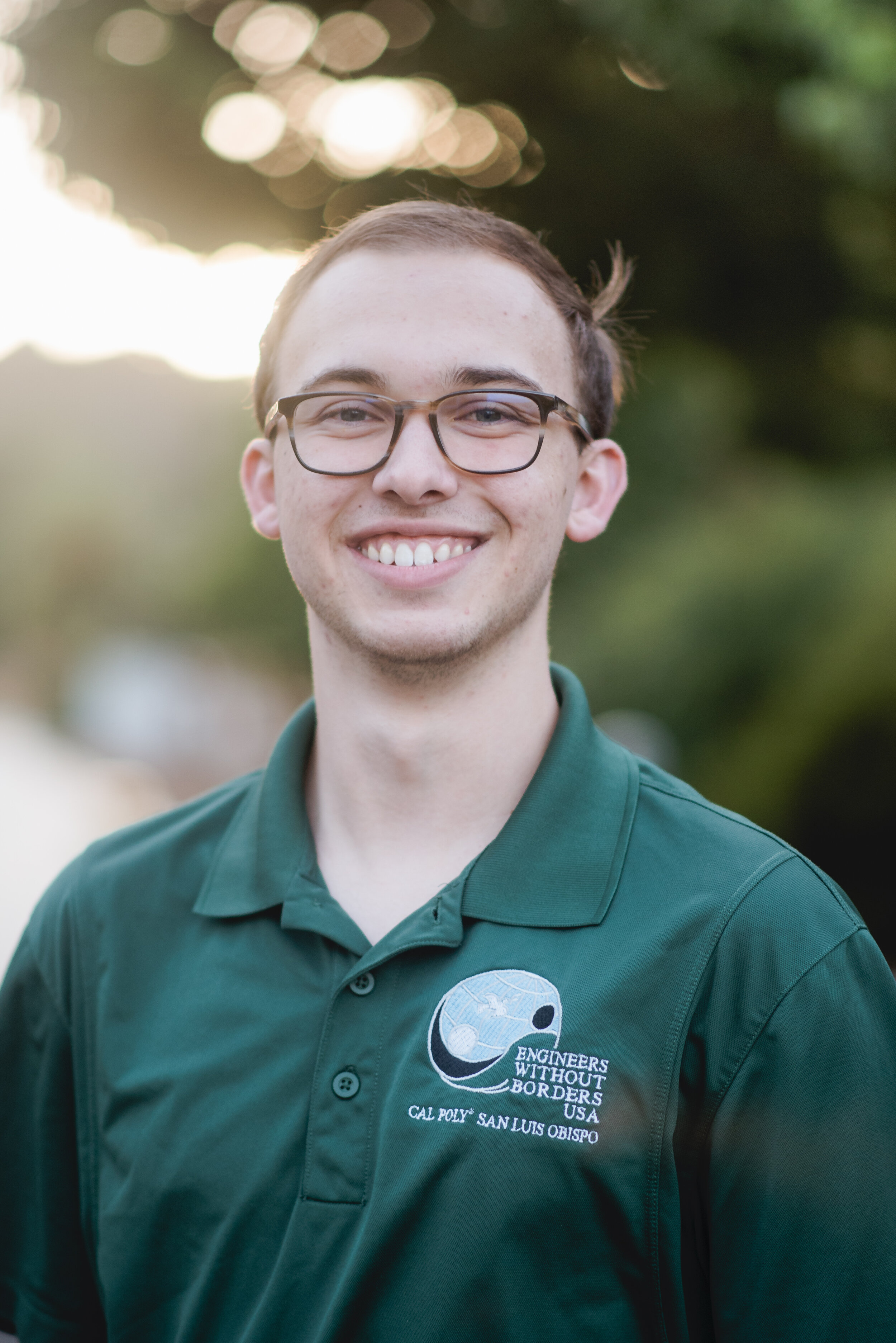 Austin Marshall - Fiji Team Project Manager    Grad 2021 - Mechanical Engineering   Austin is from Novato, CA (Just north of San Francisco). He joined Engineers Without Boarders because he has a passion for both helping people, whether it's in our community or around the world, and working to find new solutions to technical problems. Some of his favorite memories with EWB include the Fiji team fundraisers and club social events like the camping trip. Outside of EWB, Austin enjoys photography, rock climbing, hiking, line dancing, and exploring new places.