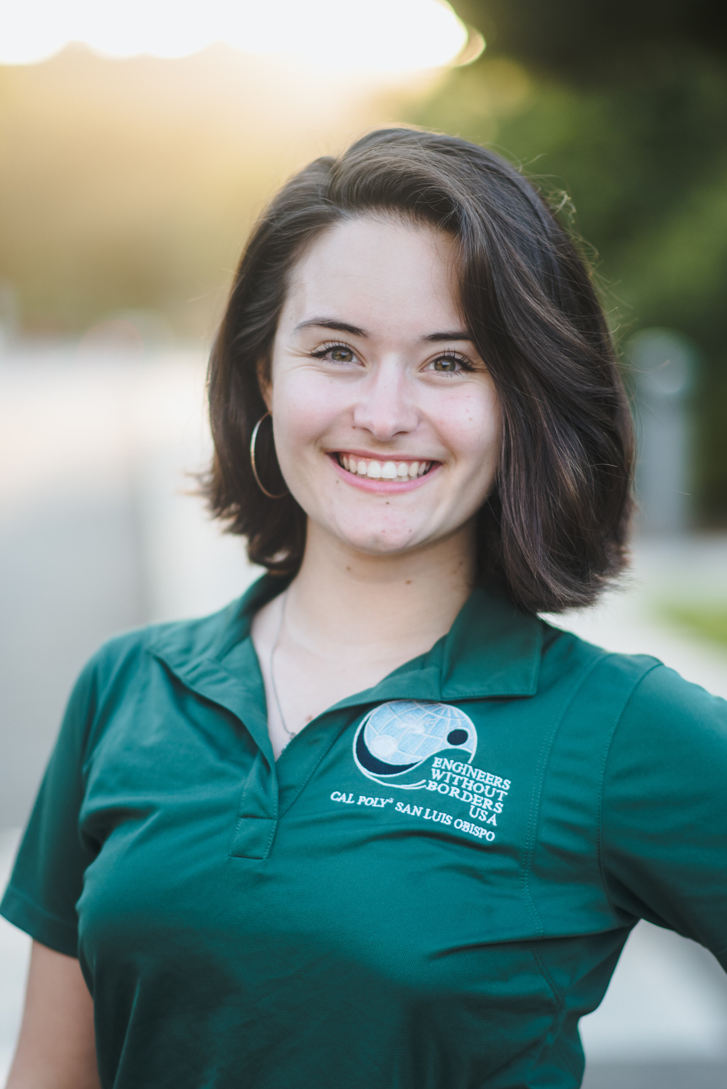 Olivia Weinbaum - Events Coordinator    Grad 2021 - Civil Engineering   Olivia is from Las Cruces, New Mexico and she joined EWB because she wants to help those in underdeveloped countries with their infrastructure issues. Her favorite memory of EWB is spending time with her best friends working on the project team and going on EWB's quarterly camping trips. She loves dancing and is a part of Urban Movement. She also loves working out, camping, and riding motorcycles.