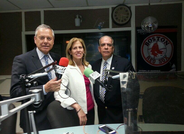 Fall River delegation's WSAR radio appearance for Memorial Day