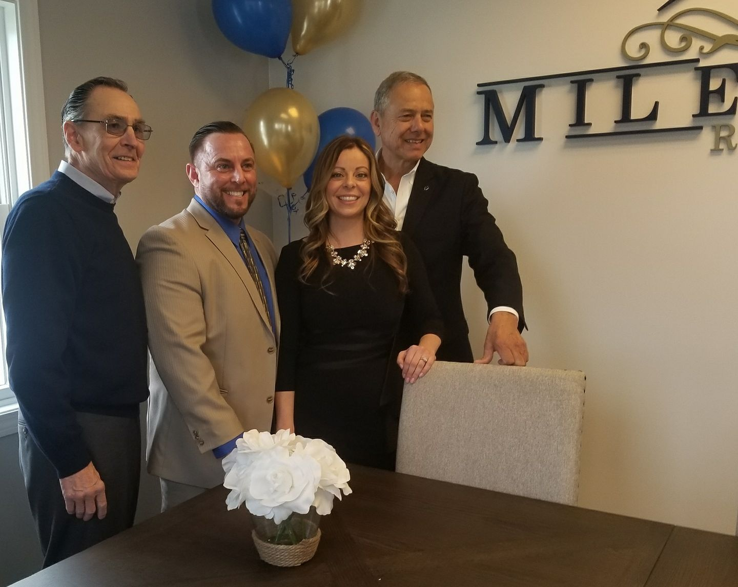 Another new business in Westport, Milestone Realty! Thank you Keith and Debra Viveiros for bringing jobs to Westport. Former Fall River Mayor Viveiros is very proud of his grandson